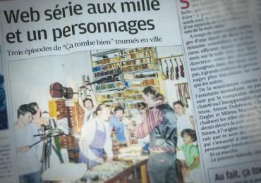Un article dans la Provence !